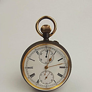 Brass Bomb Timing Pocket Watch c1905