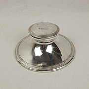 Silver Blankney Hunt Presentation Capstan Ink Well Sheffield 1915