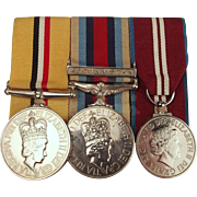 Elizabeth II Iraq & Afghanistan Medal Set Awarded To D.C. Montgomery - Highlanders