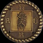 RNVR - Tyne Division Bronze Boat Badge