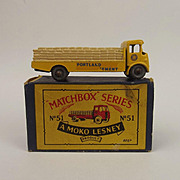 Boxed Matchbox 51a Albion Chieftan Truck