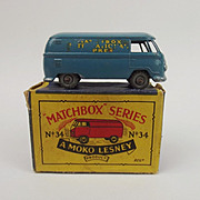 Boxed Matchbox No. 34a Volkswagen Microvan 1958-62