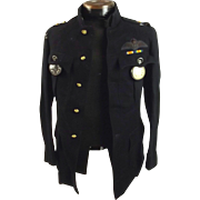 WW1 RAF Pilot's Jacket (Named) & 2 Pocket Watches
