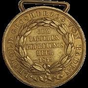 Baden Commemorative Medal 1849