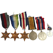 WW2 Medal Set - Unnamed