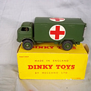 Dinky 626:- Military Ambulance 1956-1962 VN MIB