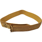 British Officers Gold Belt