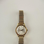 Circa 1973 Ladies Gold Plated Omega Geneve Automatic Wristwatch