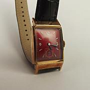 Gents 10ct Rolled Gold Bulova Wristwatch c1930's