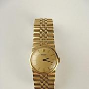 Ladies 14ct Gold Rolex Wristwatch