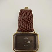 18ct Gold Omega De Ville Wristwatch c1972