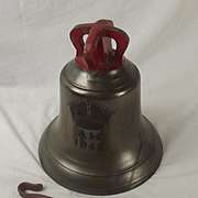 1945 Large AM Stamped Air Ministry Scramble Bell