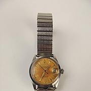 1956 Gents Stainless Steel Rolex Midi Oysterdate 6466 Wrist Watch