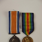 WW1 Medal Pair Awarded To 44919 Pte G.H. Mackay – Rifle Brigade