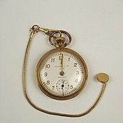 Gold Plate Ingersoll Triumph Pocket Watch