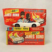 Corgi 336 James Bond 007 Toyota 2000GT 'You Only Live Twice'