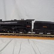 Scratch built Live Seam Model LMS Black Five 5041 Gauge 1 Locomotive