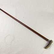 Silver Mounted 1805 Walking Stick HMS Naiad Trafalgar