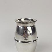 Cunard Steamship Company Silver Plate Pepper Mill c1907