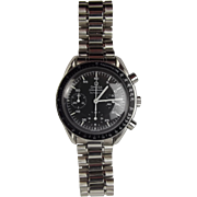 Gents Stainless Steel Omega Speedmaster Automatic Wristwatch In Box