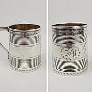 1805 Georgian Silver Christening Mug