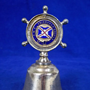 Union Castle RMS Edinburgh Castle Nautical Table Bell C1960