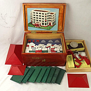 Boxed Bayko No.4 Building Set
