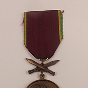1977 Zaire Operation Shaba Military Medal