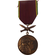 1977 Zaire Operation Shaba Military Medal