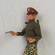 Vintage Original Palitoy Action Man Talking Commander c1981