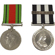 WW2 Defence Medal And St John's Ambulance Service Medal, Private F. Richardson