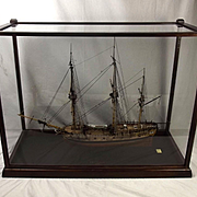 Well Finished Cased 1776 HMS Pegasus Victory Models, 1:64 Scale