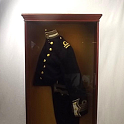 Cased Royal Navy Edwardian Captain/Lieutenant Half Uniform