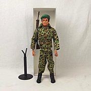 Vintage Original Palitoy Action Man Royal Marines Combat Uniform c1980