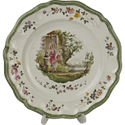 18th Century Veuve Perrin Plate #4