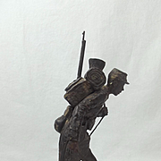 Robert Truscott Bronze Figure Of A WW1 French Trooper Ltd Ed. 2 of 8