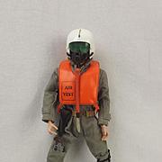 Original Palitoy Action Man Scramble Pilot Circa 1966