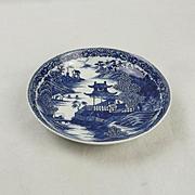 Caughley Blue & White Porcelain Bowl c1780