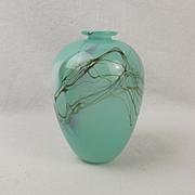 Small 20thC Murano Glass Vase