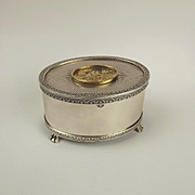 Sterling Silver Music Box by The St James Company c1979 - Ltd Ed. 326/500
