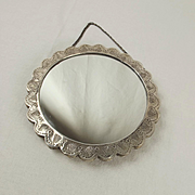 Turkish Bedo Silver Hanging Mirror