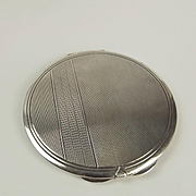 Ladies 800 Silver Compact