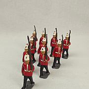 Britains Lead Figure Set - East Surrey Regiment c1912