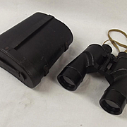 Cased Bausch And Lomb WWII USA Navy 7x50 Military Binoculars #3