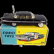 Corgi Toys 223:- Chevrolet State Patrol 1959-65