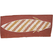 Nailfish By Patrick Pamkal - Aboriginal Australia Art 1982