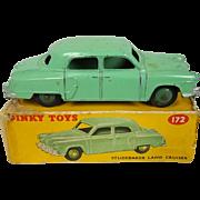 Dinky Toys #172: Studebaker Land Cruiser Boxed, In Green