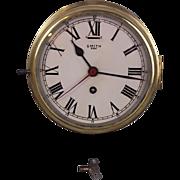 c1930's Smith 8 Day Ships Clock