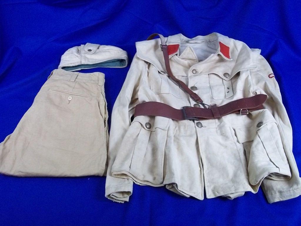 Second World War Italian Fascist Volunteers SS Uniform. Includes Hat, Jacket, belt and Trousers