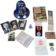 Collection Of Fireman B. Mansell - Lynmouth Flood Disaster 1953 - Bell Medals Etc.